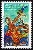 Postage Stamp France 2005 Story By Jules Verne