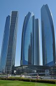 Etihad Towers in Abu Dhabi, UAE