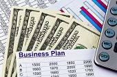 a business plan for starting a business. ideas and strategies for self-employment. dollars and calcu