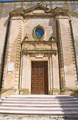 foto of pilaster  - Mother Church of Montescaglioso - JPG