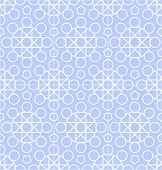 Vector abstract geometric background with techno ornament