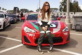 LONG BEACH - APR 1: Vanessa Marcil at the 37th Annual Toyota Pro/Celebrity Race Practice Day on Apri