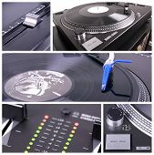 Dj Table Collage
