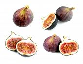 Yummy and delicious figs