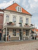 Restaurant In The Dutch Town Of Heusden, Netherlands