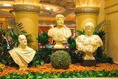 Statues In Caesar's Palace In Las Vegas