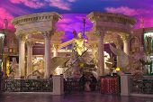 Lobby In Caesar's Palace In Las Vegas