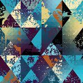grunge polygonal