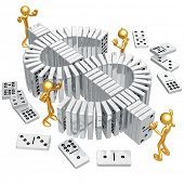 Dollar Dominoes