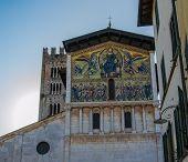 Mosaic Facade On Lucca