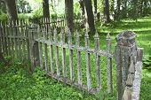 Wooden Fence, Park