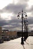 Lantern On The Bridge