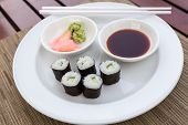Sushi Hoso Maki