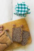 Homemade Organic Buckwheat Bread