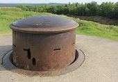 Machine gun turret WW1 Fort Douaumont France