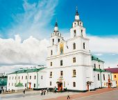The Cathedral Of Holy Spirit In Minsk, Belarus