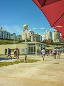 Sunny Day In Mar Del Plata