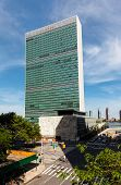 United Nations Building In New York
