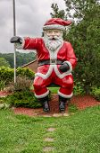 Santa Claus In Summer