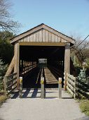 Covered Bridge in Midwest