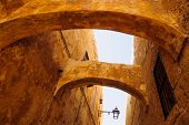 foto of gozo  - An Alley in the old city of Victoria Gozo Island Malta - JPG