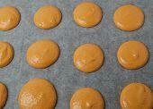 Unbaked Orange Macaroons