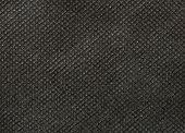 Black Nonwoven Fabric Texture