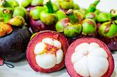 Group of Mangosteens