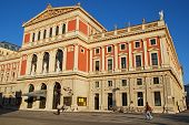 Musikverein-concert Hall In Vienna, Austria