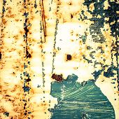 Grunge Background. Rusty Metal Texture.