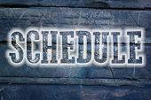 Schedule Concept