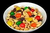 Peanuts, Raisins And Jelly Beans