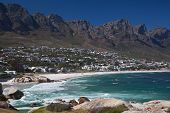 Camps Bay and the Twelve Apolstles