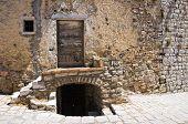 Alleyway. Pietragalla. Basilicata. Southern Italy.