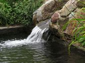 Water Running Over Rocks
