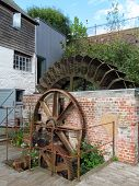 Mill Water Wheel And Cogs