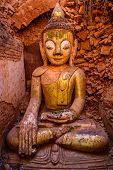 Buddha Statue In Bagan, Burma (myanmar)