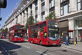 Bond street shops, Selfridges in London
