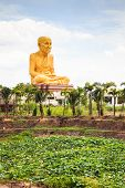 Giant Statue Of Famous Thai Monk