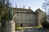 Palace Of The Dukes Of Bragança In Guimaraes.