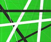 Green Criss Cross Background