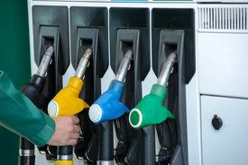 picture of petrol  - Close - JPG