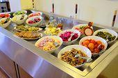 Buffet style lighter fare