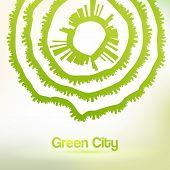 Eco Friendly Urban Background