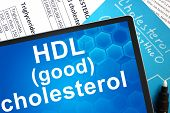 HDL (good) cholesterol