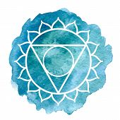 pic of indian blue  - Vishuddha chakra - JPG