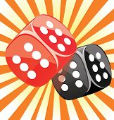 Dice lucky casino gambling game win success