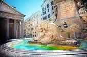 Pantheon Fountain