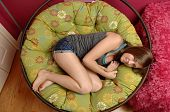 Teen girl Relaxing