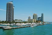 Miami Beach Marina and Luxury Condos